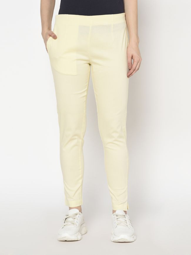 COTTONSTRETCHPANTSOFFWHITE